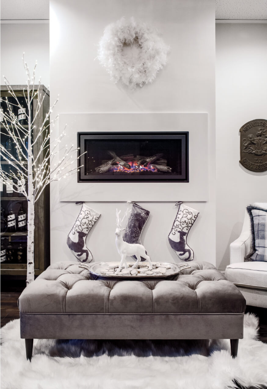 Christmas Fireplace Styling Ideas From Costco